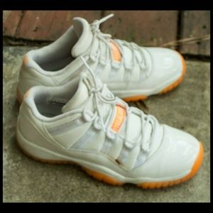 "Nike Air Jordan 11 Retro Low GG ""White Citrus"" 6.5"